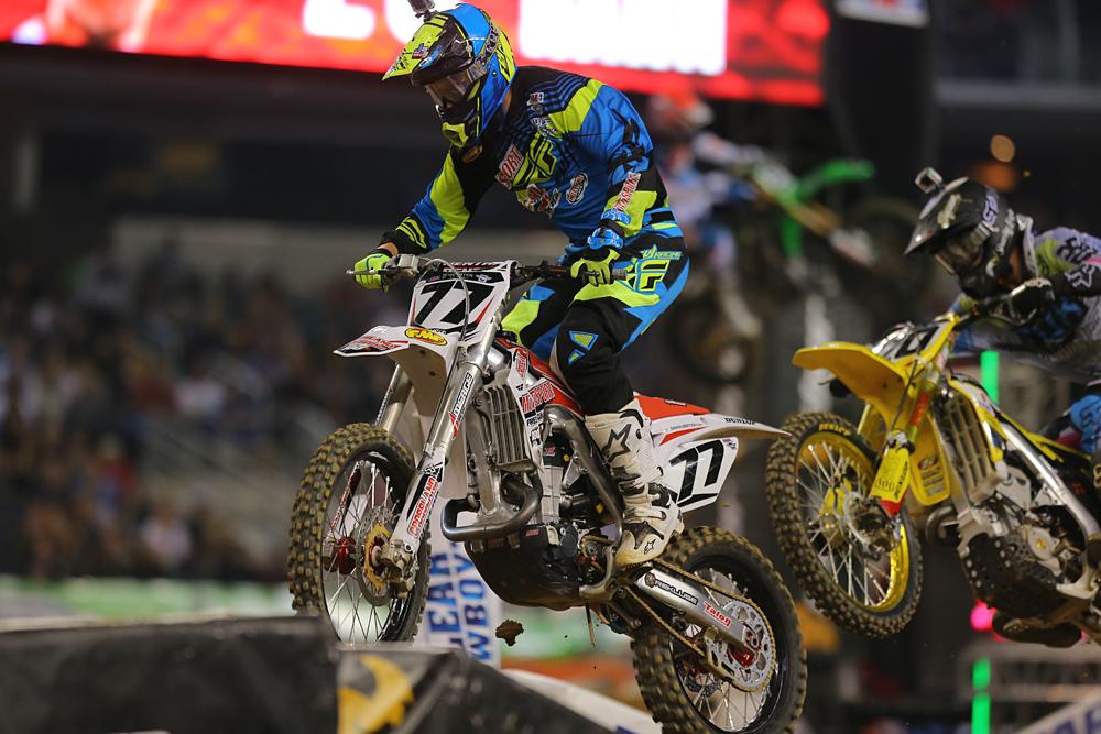 Motosport.com Crossland Racing Rider Jimmy Albertson