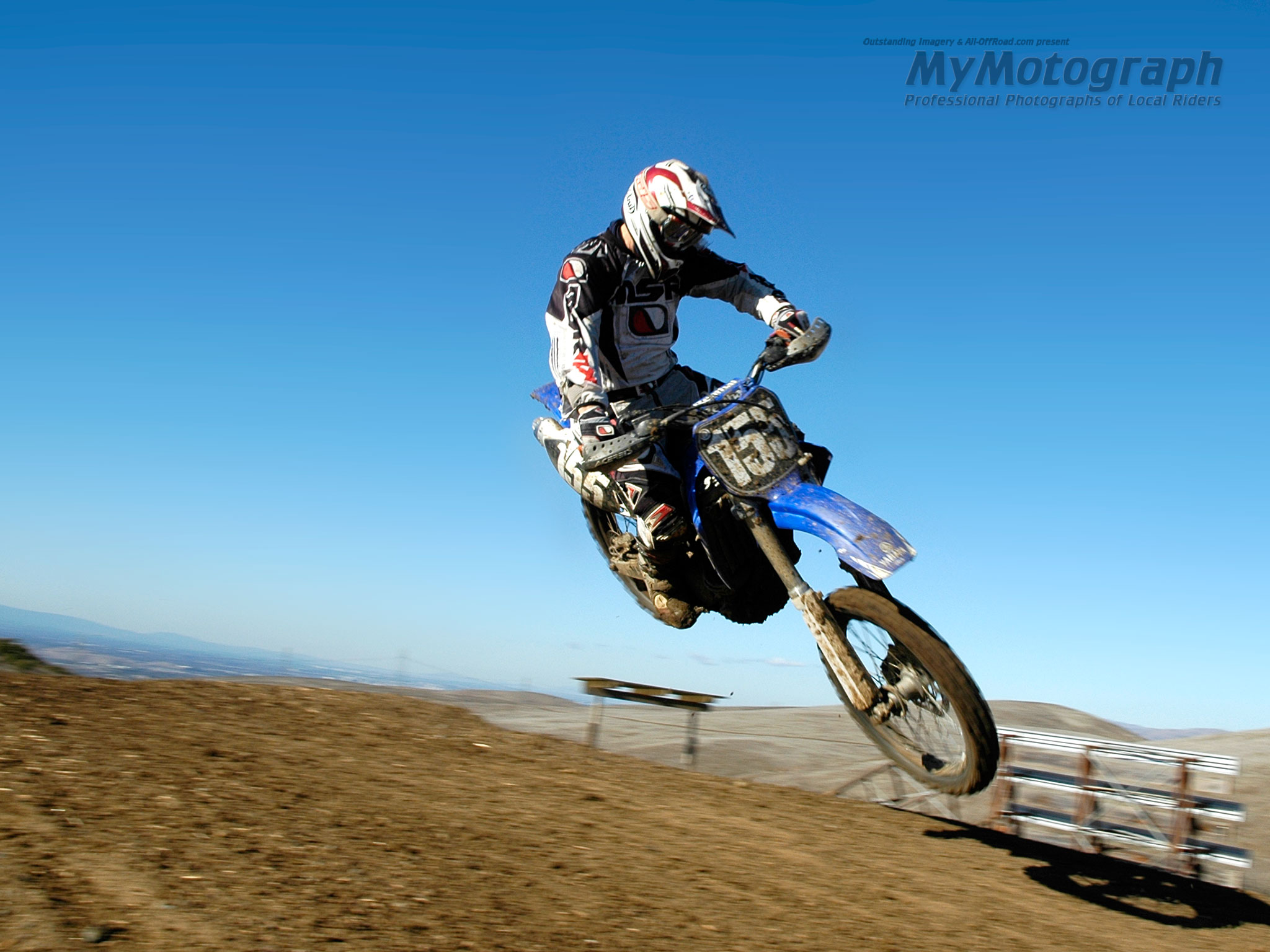 WallPaper Yamaha Motocross