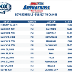 Arenacross Announces 2014 TV Schedule
