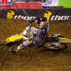 James Stewart captured his First Win of the 2014 Supercross Season