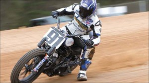 Latus Motors Triumph Race Action Shot