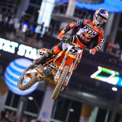 Dungey Places 2nd at Dallas Supercross