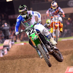 Chad Reed Wins Back-to-Back Races in Anaheim