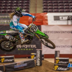 Vicki Golden (@VG214)  Discusses Her Return to AMSOIL Arenacross