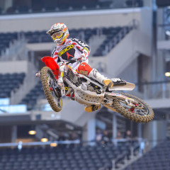 Dallas SX: GEICO Honda