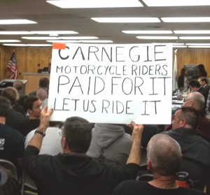 livermore ride sign