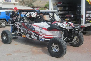 The Can-Am/ITP/Murray Racing team ran 30-inch ITP Ultracross R Spec tires at the 2014 SCORE San Felipe 250 and took second in Class 19.