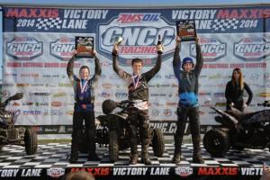 Youth Overall: (left) Rhett Cox, Brandon Frazier, (right) Cameron Abee - Photo: Ken Hill