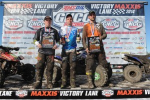 XC2 Podium: (left) Fred Marley, Cole Richardson, (right) Thomas Koontz - Photo: Ken Hill