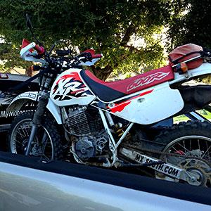 1997 Honda XR600R